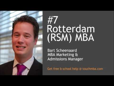 Rotterdam MBA Admissions Interview with Mr. Bart Scheenaard - Touch MBA Podcast