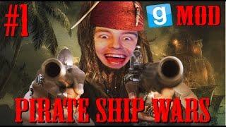Garry's Mod: Pirate Ship Wars #1 | Ekipa piratów (STREAM)
