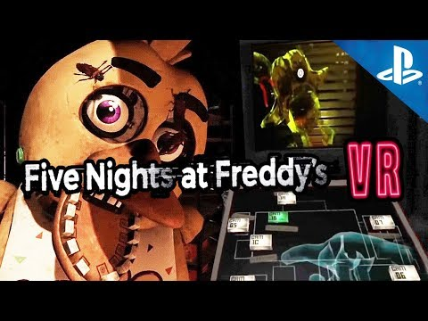 PRIMER GAMEPLAY !! FNAF VR Playstation 4 PRO   Five Nights at Freddy's