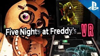 PRIMER GAMEPLAY !! FNAF VR Playstation 4 PRO | Five Nights at Freddy's
