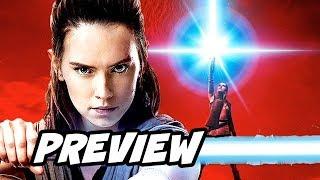 Star Wars Episode 8 The Last Jedi Kylo Ren Rey Preview Breakdown