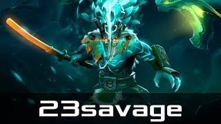 Fnatic.23savage — Juggernaut, Safe Lane (Nov 8, 2019) | Dota 2 patch 7.22 gameplay