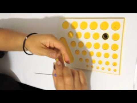 Como hacer una mariposa en filigrana de papel youtube - Como hacer mariposas de papel ...