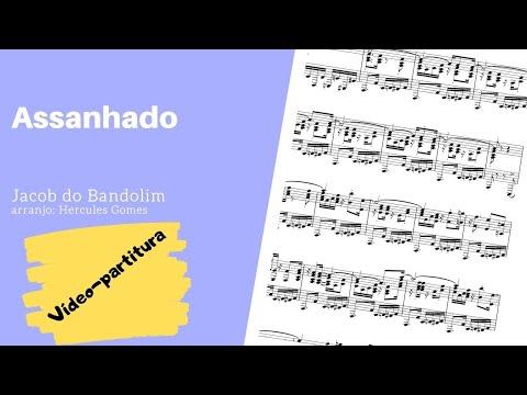 "<span class=""title"">ASSANHADO (Jacob do Bandolim por Hercules Gomes) |VIDEO-PARTITURA|</span>"