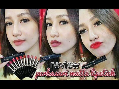review-+-swatches-purbasari-lipstick-color-matte-(giveway??)-/-naomiviow-/-bahasa