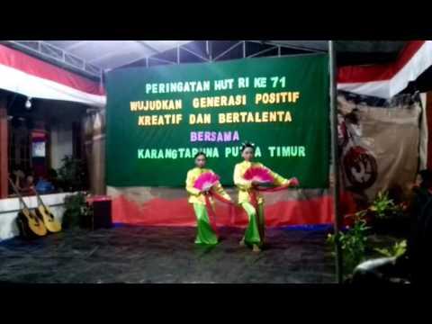 Pertunjukan Tari Ongkek Manis Karang Taruna Putra Timur || Perayaan 17 Agustus 2016(Original)
