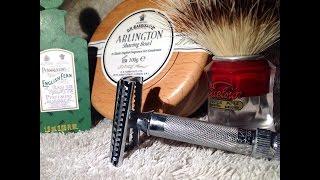 D.R. Harris Arlington - Semogue 830 - Gillette Nacet Stainless
