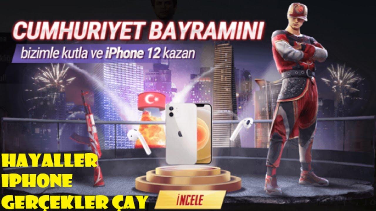 PUBG Mobile Cumhuriyet Bayramı Kodu | Redeem Code