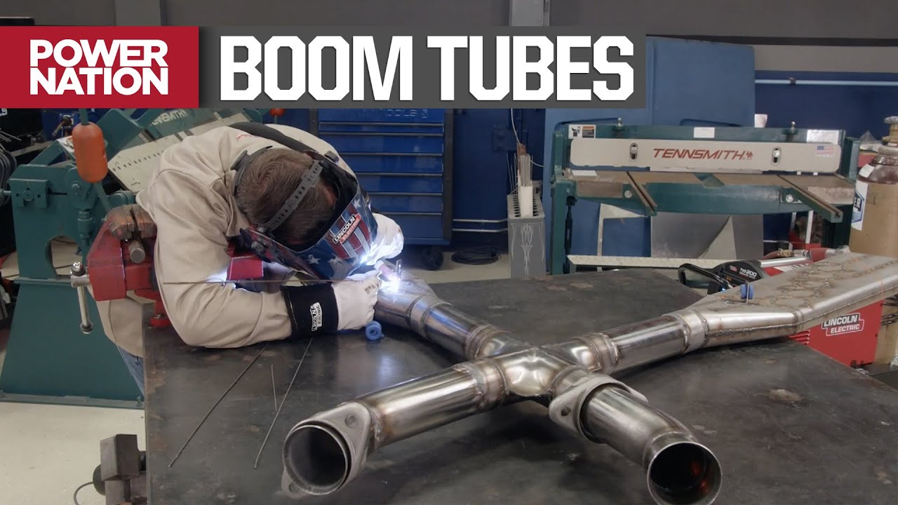 installing a nascar style exhaust system on a foxbody mustang detroit muscle s6 e2