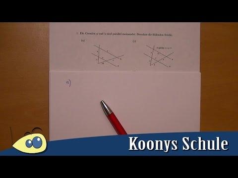 Aufgabe 1 - einfache Aufgaben | Strahlensätze * Arbeitsblatt 4181 ...