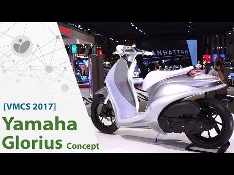 VMCS 2017 | Yamaha Glorius Concept - đẹp Nhưng Xe ý Tưởng | Xe.tinhte.vn