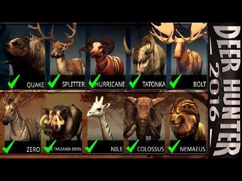 Deer Hunter 2016 1 Hour Hunt Part 4