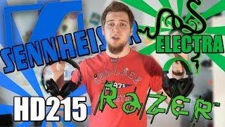 Sennheiser HD 215 или Razer Electra? #Сравнения