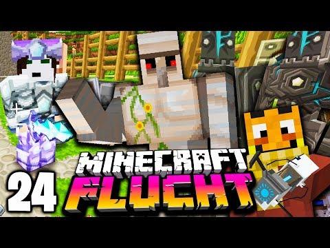 Wir ZÜCHTEN eine GOLEM ARMEE ☆ Minecraft FLUCHT #24