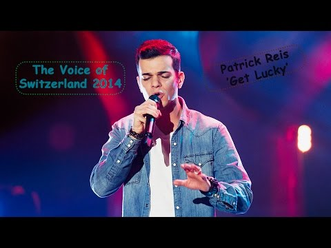 The Voice Of Switzerland 2014 - Patrick Reis 'Get Lucky' [HD]