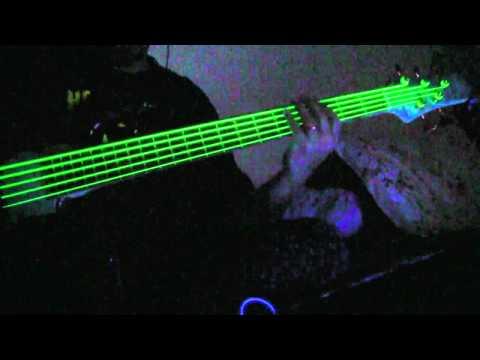 NEON Green Guitar & Bass Strings - Glow Amazing!