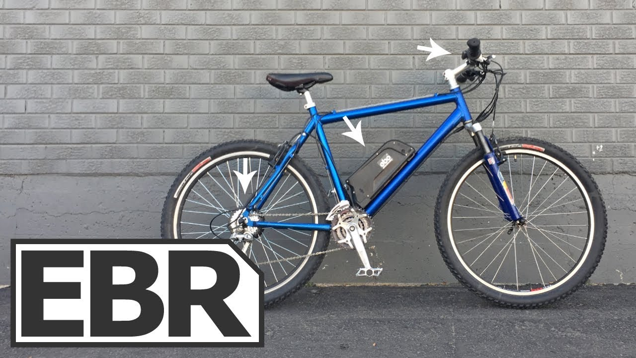 Electric Bike Outfitters 36V Burly Kit Video Review - $1 1k Lightweight,  Cheap, Ebike Kit