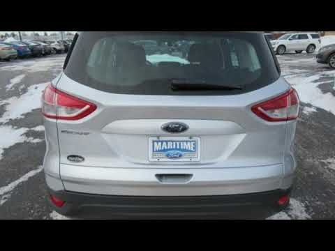 Used 2017 Ford Escape Manitowoc Wi 8352a