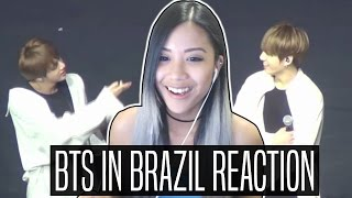 Video BTS IN BRAZIL REACTION (Boy Meets Evil + Girl Singing CYPHER PT.4 + Talk In Portuguese) download MP3, 3GP, MP4, WEBM, AVI, FLV Agustus 2018