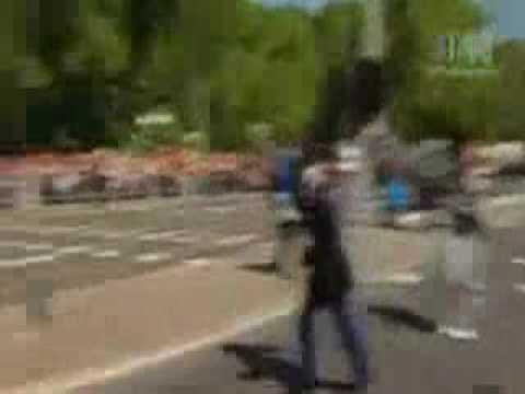 car crash Car Accident Dutch Netherland Queen BEATRIX Parade attack