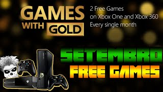 Games With Gold Setembro 2015 Free Games (X360/XONE)