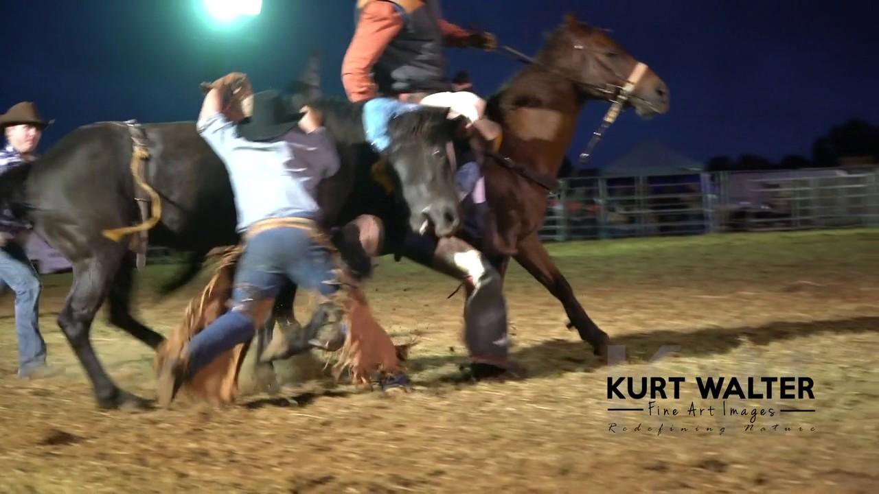Saddlebronc Rides At 2016 Apra Kapunda Rodeo Youtube