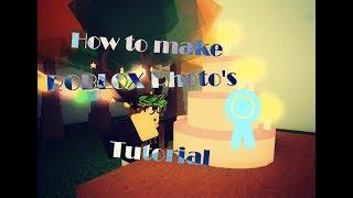 How to make a ROBLOX Photo || ROBLOX Tutorials