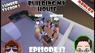 Roblox - Lumber Tycoon 2 - House Roof, wow.