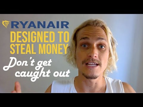 Ryanair Review: How To Fly With Ryan Air - And Not Get Ripped Off!