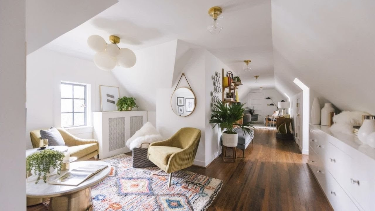 Boho Minimal Amp Scandinavian Style In Attic Apartment