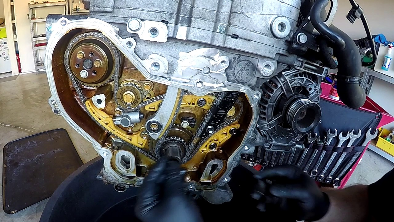 Z22se Gm Vauxhall Astra Ecotec Cylinder Head Removal