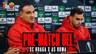 Lutar de OLHOS NOS OLHOS 👀 e com 100% de ambição! | SC Braga x AS Roma