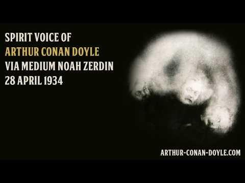 Sir Arthur Conan Doyle spirit voice (28 april 1934)
