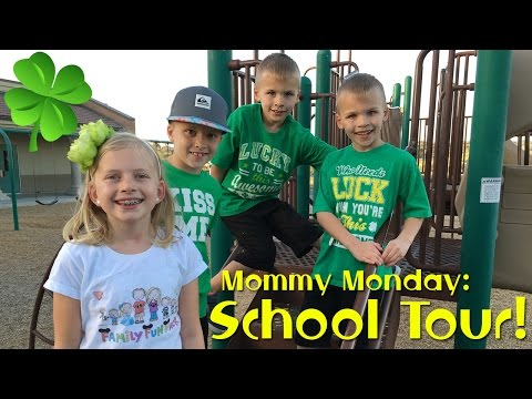 School Tour, Open House & Ice Cream || Mommy Monday