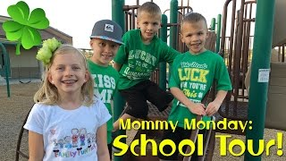 School Tour, Open House & Ice Cream    Mommy Monday