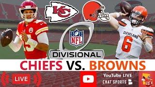 Chiefs vs. Browns Live Streaming Scoreboard, Play-By-Play, Highlights, Stats, Updates | NFL Playoffs