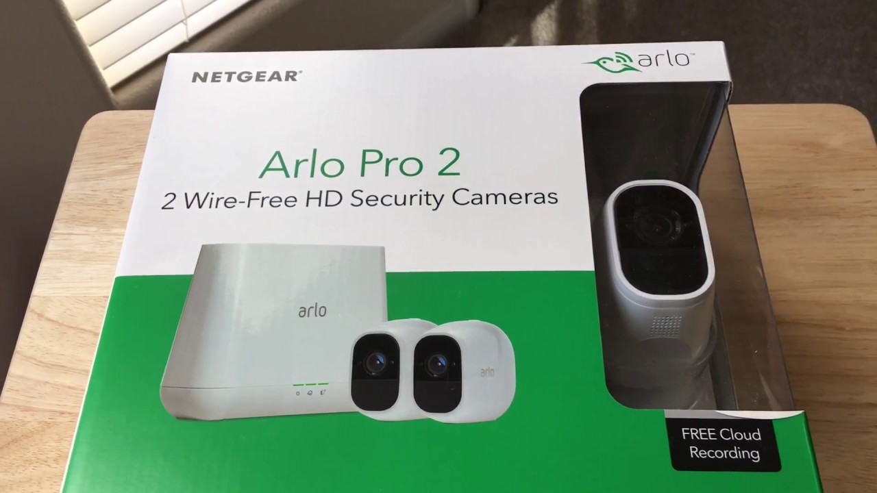Arlo Smart Home Arlo Pro 2 Netgear Wireless Camera