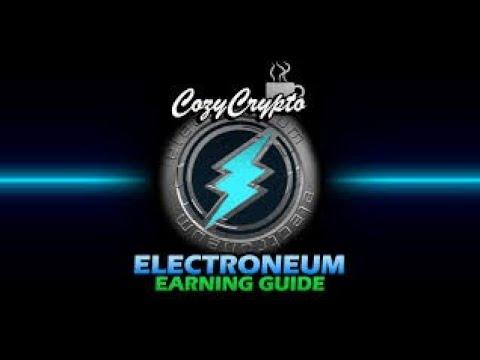 Electroneum sistemi değişti Artık Anytask ile para kazan.