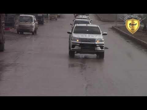 لقاءات و مشاهد من قوات مجلس منبج العسكري متوجها إلى خطوط الدفاع 18/1/2018