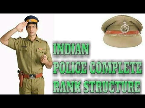 How  to identify Indian police rank structure &, badges in Hindi by Grb Solutions