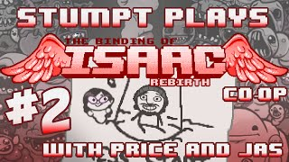 Stumpt Plays - The Binding of Isaac: Rebirth Co-Op - #2 - Barf Bombs