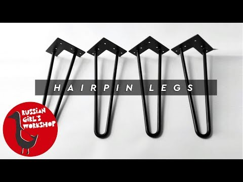 How to Make Hairpin Legs very easy