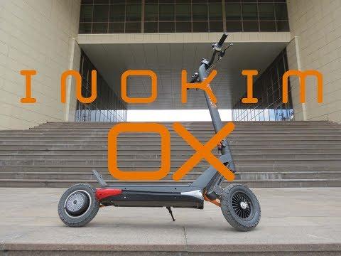 Inokim OX. Как едет, бордюры, лежачие. Небольшой обзор