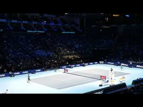 Great Point by Rafael Nadal #NittoATPFinals | David Goffin vs Nadal | 2-1
