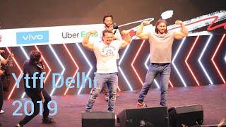 Flying beast live performance at ytff 2019 delhi🔥YouTube Fanfest delhi Ambiance mall Gurugram