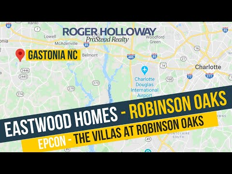 Driving Tour Of Robinson Oaks In Gastonia NC