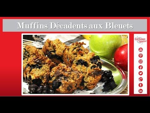 muffins-décadents-aux-bleuets-(sans-noix)---cuisine-santé-paléo