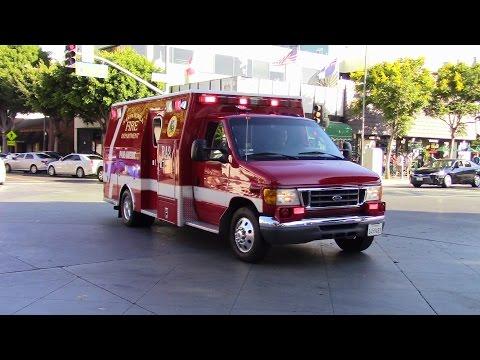 Santa Monica Fire Dept. RA2 Responding/transporting