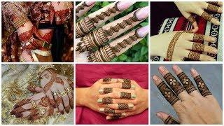 Beauteful And Easy Fingers Mahendi Designs