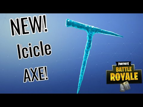 😍 New Icicle Pickaxe Sound And Review!